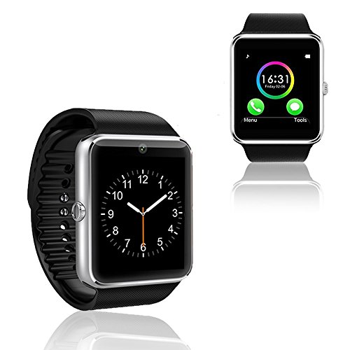 Indigi New Universal GT8 Bluetooth 3.0 Smart Watch & Phone w/Built-in Camera Unlocked AT&T Tmobile
