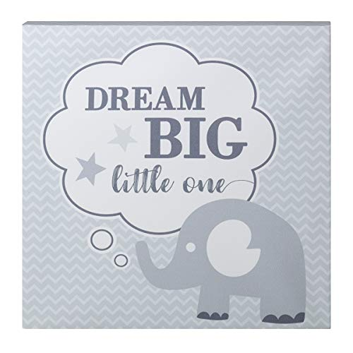 Lillian Rose Dream Big Elephant Nursery Canvas ()