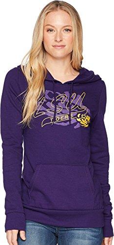 - Champion College Women's LSU Tigers Eco University Fleece Hoodie Collegiate Purple X-Small