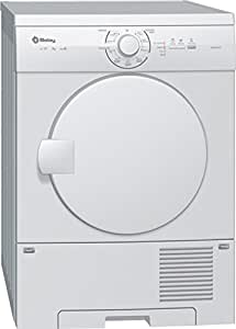 Balay 3SC70101EE Independiente Carga frontal 7kg Color blanco - Secadora (Independiente, Carga frontal, Color blanco, Derecho, 1,45 m, CE, VDE)