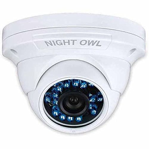 Night Owl 1080p HD Analog White Audio-Enabled Add-on Dome Ca