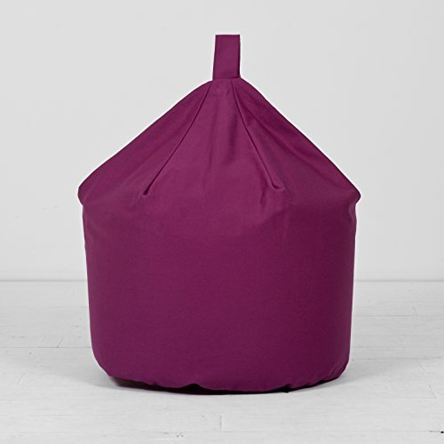 Magenta Purple Extra Large XL Childrens Kids Boys Girls 100% Cotton Bean Bag Beanbag With Filling Creative Living