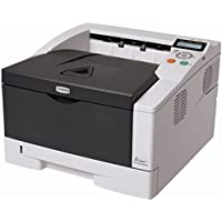 Kyocera 1102L02US0 ECOSYS FS-1370DN Black and White Desktop Printer, Up to 35 pages per minute in A4, Duplex functionality for double-sided printing as standard, Max. paper capacity of up to 800 sheets