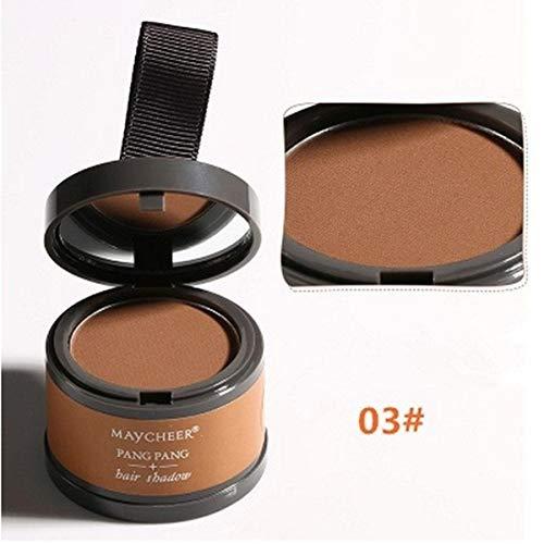 wewa98698 Waterproof Long Lasting Women Hair Repair Modified Makeup Hairline Shadow Powder for Women - Light Brown