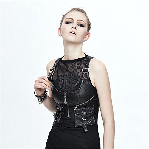 Mujer Fashion Chaleco Devil Devil Fashion Chaleco Fashion Para Mujer Devil Para Para Chaleco wHAXqBS