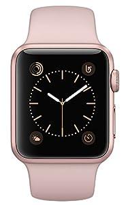amazon   apple watch series 2 38mm rose gold aluminum