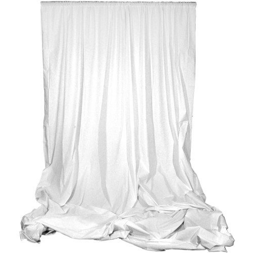 Angler Muslin Background (White, 10 x 24') by Angler
