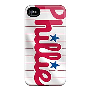 New Shockproof Protection Case Cover For Iphone 4/4s/ Philadelphia Phillies Case Cover