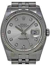 Datejust Swiss-Automatic Male Watch 116234 (Certified Pre-Owned)