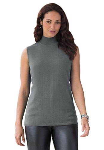 Jessica-London-Womens-Plus-Size-Mockneck-Sweater