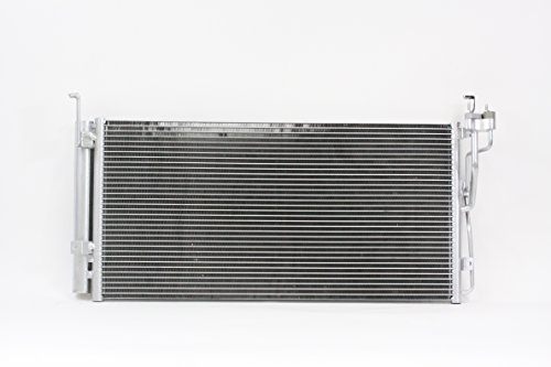 A-C Condenser - Pacific Best Inc Fit/For 3379 May'04-05 Hyundai Sonata XG350 05-06 Kia Optima/Magentis With Receiver & Dryer
