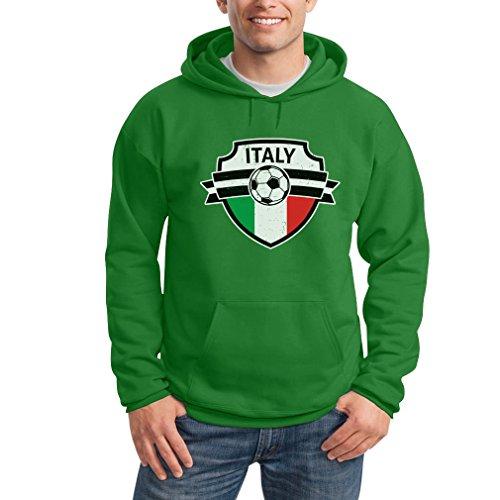 Da Cappuccio Uomo Felpa Del Mondo Come Italy On Con Shirtgeil Italia Coppa Verde nz4vazPq