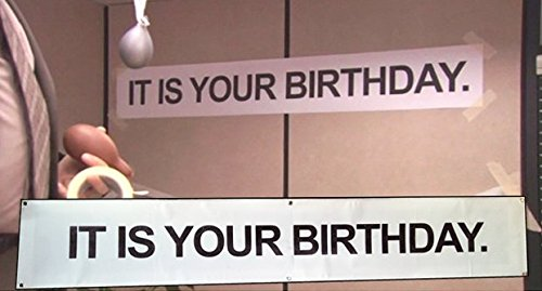 Birthday Party Banner (