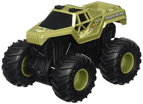 Hot Wheels Monster Jam Rev Tredz Soldier Fortune Vehicle
