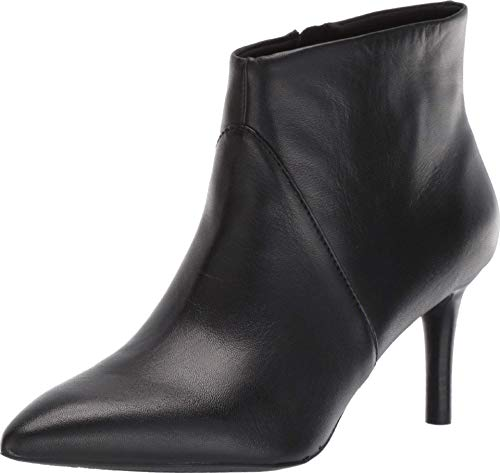 Rockport Women's TM Ariahnna Plain B Ankle Boot, Black, 8.5 W US