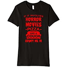 If It Involves Horror Movies, PIZZA, and a Couch T-Shirt