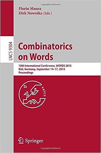 Combinatorics on Words: 10th International Conference, WORDS