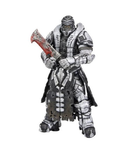 Gears Of War Costume Armor (NECA Gears of War 3 Series 3 Action Figure Savage Theron Version 2)
