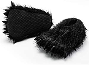 HollyHOME Claws Shoes Plush Slippers...
