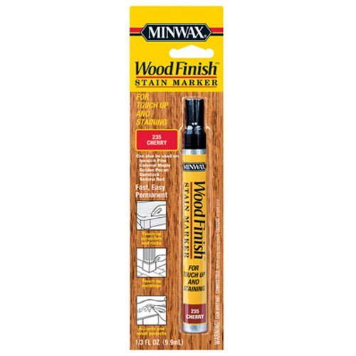 - Minwax 63486000 Wood Finish Stain Marker, Cherry