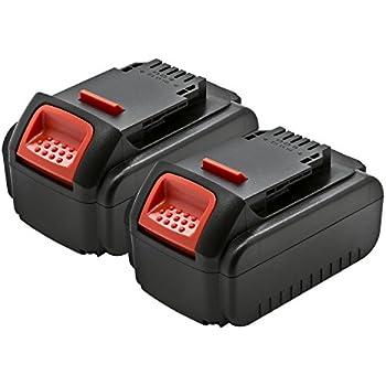 2 Pack Expertpower 20v 3000mah Li Ion Battery For Dewalt