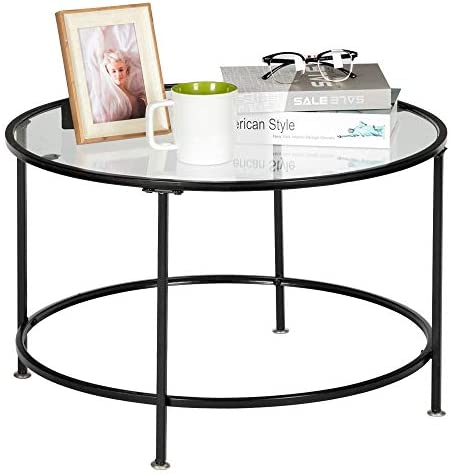 MTFY Modern Round Coffee Table
