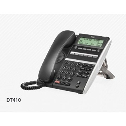 NEC DTZ-6DE-3(BK) TEL ~ DT410 Digital 6 Button Display Endpoint Phone, Stock# 650001 (Point Telephone)