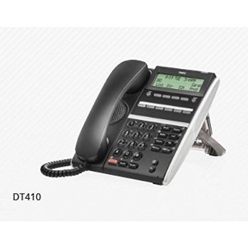 NEC DTZ-6DE-3(BK) TEL ~ DT410 Digital 6 Button Display Endpoint Phone, Stock# 650001 (Telephone Point)