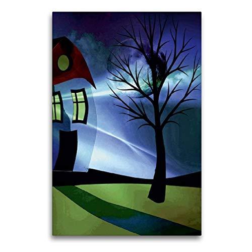 CALVENDO Toile Murale en Textile de qualité supérieure 60 x 90 cm