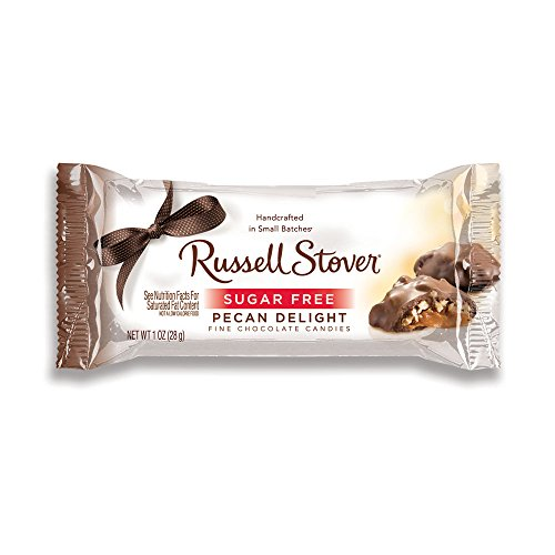 Russell Stover Sugar-Free Pecan Delights, 1 Ounce Bar (Pack of 30)