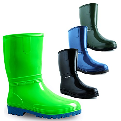 demar Boys' GREEN demar Boys' Boots Green O6O47xwq