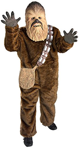 Kids-costume Chewbacca Deluxe Child Lg Halloween Costume - Child -