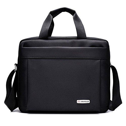 Daeou Portátiles y netbooks Bolsa para portátil Hombro único de nylon diagonal Cruz bolso maletín de la computadora del pack A-13inch