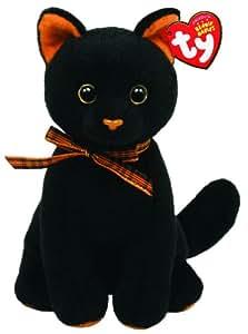 Ty 40928 - Gato de peluche (15 cm), color negro