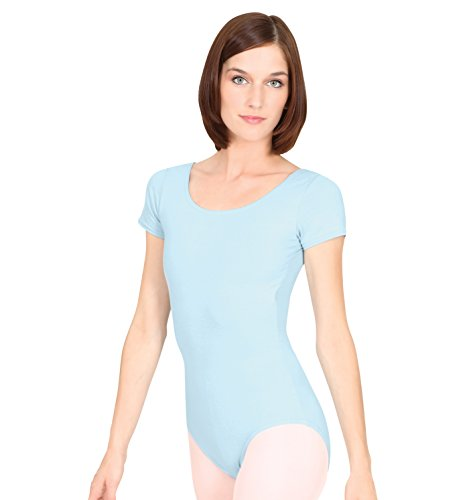 otton Dance Leotard,N5502ROYS,Royal,Small (Adult Short Sleeve Leotard)