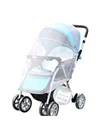 Mosquito Net, V-FYee Bug Net for Baby Strollers Infant Carriers Car Seats Cradles, White BOBEBE Online Baby Store From New York to Miami and Los Angeles