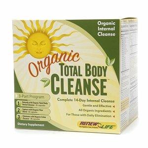 ReNouveau vie Organique Total Body Cleanse, 3-Part Programme 1 jeu
