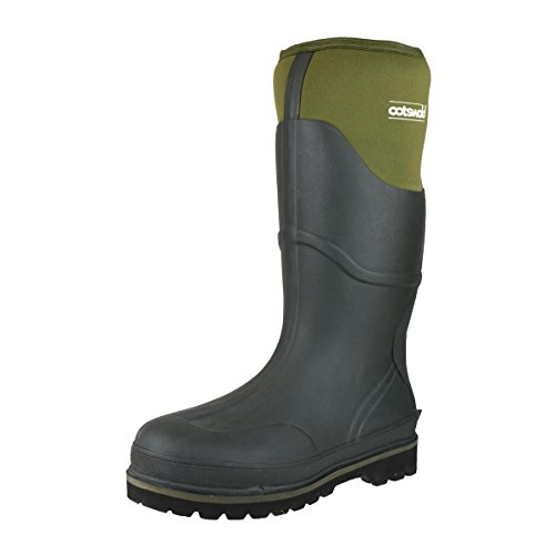 Wellington Welly Ranger Green Cotswold Neoprene Cotswold Expandable Green Boot Rubber Mens AOxYwa