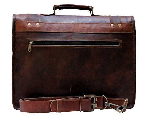b54bfdc645 Handmade World Leather Messenger Bags 15.6 for Men Women Mens Laptop  Computer Bag Best Shoulder Satchel