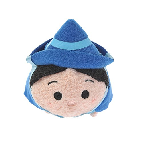 Amazon.com: Disney Store stuffed Merryweather mini (S) Sleeping Beauty TSUM TSUM Japan Import: Toys & Games