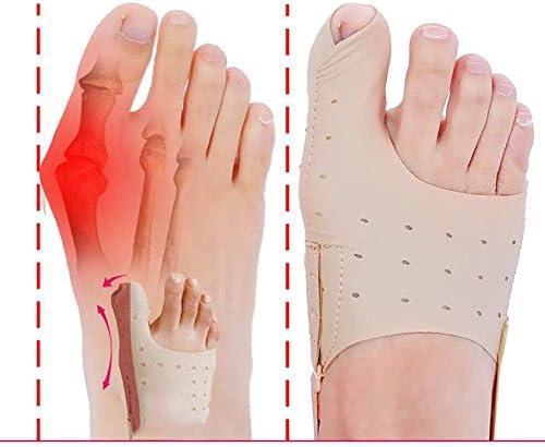 Haushaltswaren Sportzubehör Slim Big Toe Corrector Bigfoot Daumen Eversion Corrector Erwachsene Männer und Frauen tragen Schuhe S.