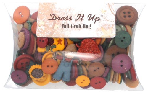 DRESS IT UP 5446 FALL BUTTON GRAB BAG