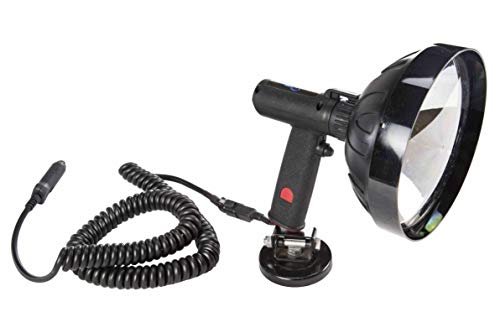5 Million Candlepower 12 Volt Spotlight with Magnetic Base - HML-8(-7 inch-12vdc) ()