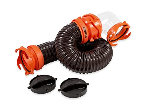 (Camco 3 Foot 39768 Rhinoflex Tote Tank Hose Kit )