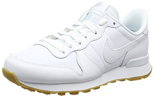 Sneaker Brown Light Nike 103 Multicolore Wmns Internationalist gum white Donna White White vZ6UEqZx