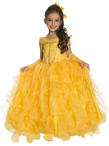 Rubie's Deluxe Princess Jessica Costume, Yellow, Small (Deluxe Belle Costume)