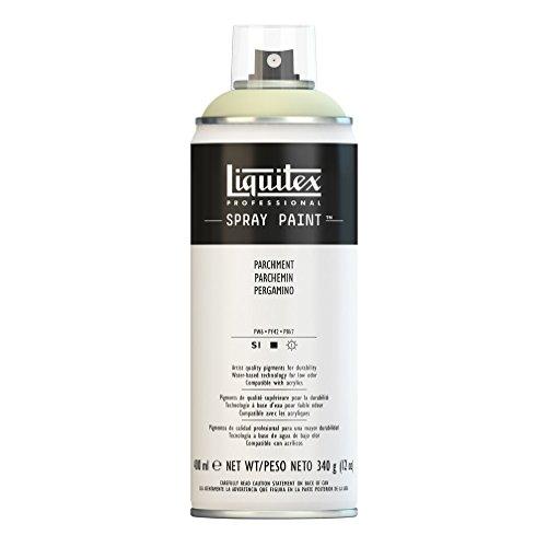 - Liquitex 4450436 Professional Spray Paint 12-oz, Parchment