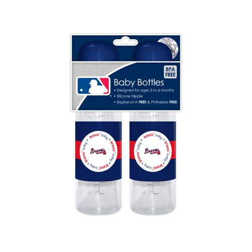 MLB Atlanta Braves Baby Bottles, by Baby Fanatic   B003C0AD1Q