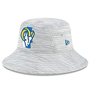 New-Era-Mens-Gray-Los-Angeles-Rams-2021-NFL-Training-Camp-Official-Bucket-Hat