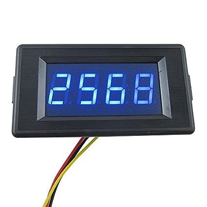 DIGITEN DC12V 4 Digits LED Counter Panel Meter Plus Minus Totalizer